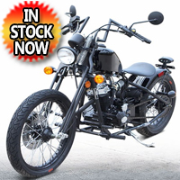250cc Street Legal Bobber Chopper Motorcycle - DF250RTA