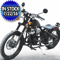 250cc Bobber Chopper Street Legal Motorcycle - DF250RTB