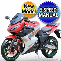 Brand New 250cc Street Bike Ninja Style Rally Sport - Model: DF250RTS