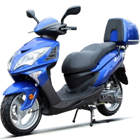200cc Gas Moped Scooter Automatic CVT Engine - Falcon 200