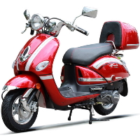 200cc Gas Moped Scooter Automatic CVT Vespa Style - Vestalian 200
