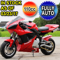 110cc X7 Super Bike Automatic with Electric Start