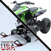 150cc Vulcan Sport AtSki w/ Reverse Snowmobile
