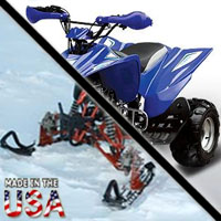 250cc Stealth 4 Stroke Adult Sport AtSki Snowmobile