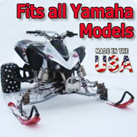 Yamaha ATV Ski Snowmobile Conversion Kit - Fits All Models