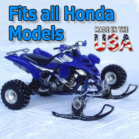 Honda ATV Ski Snowmobile Conversion Kit - Fits All Models