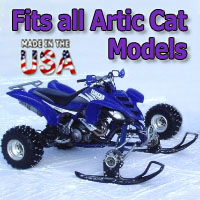 Artic Cat ATV Ski Snowmobile Conversion Kit - Fits All Models