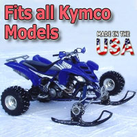 Kymco ATV Ski Snowmobile Conversion Kit - Fits All Models