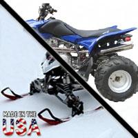 300cc Thor Four Stroke AtSki Snowmobile