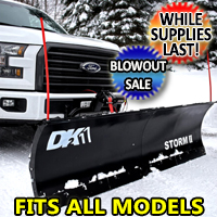 Fits All Models - Brand New Electric Snow Plow Storm II 84 in. x 22 in.