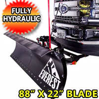 Fits All Models - Brand New DK2 Hydraulic Snow Plow - EVEREST