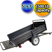 DK2 4' x 6' Mighty Mini Utility Trailer - MMT4X6