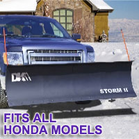 "Fits All Honda Models - Brand New 84"" x 22"" DK2 STORM II Electric Snow Plow"