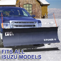 "Fits All Isuzu Models - Brand New 84"" x 22"" DK2 STORM II Electric Snow Plow"