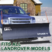 "Fits All Landrover Models - Brand New 84"" x 22"" DK2 STORM II Electric Snow Plow"