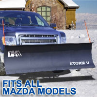 "Fits All Mazda Models - Brand New 84"" x 22"" DK2 STORM II Electric Snow Plow"