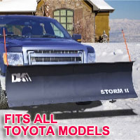 "Fits All Toyota Models - Brand New 84"" x 22"" DK2 STORM II Electric Snow Plow"