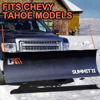 "Chevy Tahoe Snow Plow - Brand New 88"" x 26"" DK2 SUMMIT II Electric Snow Plow"