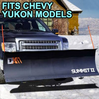 "Chevy Yukon Snow Plow - Brand New 88"" x 26"" DK2 SUMMIT II Electric Snow Plow"