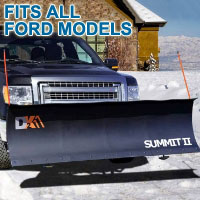 "Fits All Ford Models - Brand New 88"" x 26"" DK2 SUMMIT II Electric Snow Plow"