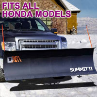 "Fits All Honda Models - Brand New 88"" x 26"" DK2 SUMMIT II Electric Snow Plow"