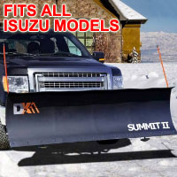 "Fits All Isuzu Models - Brand New 88"" x 26"" DK2 SUMMIT II Electric Snow Plow"