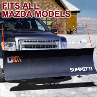 "Fits All Mazda Models - Brand New 88"" x 26"" DK2 SUMMIT II Electric Snow Plow"
