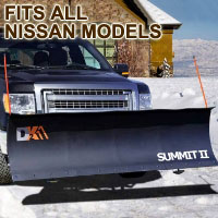 "Fits All Nissan Models - Brand New 88"" x 26"" DK2 SUMMIT II Electric Snow Plow"