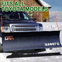 "Fits All Toyota Models - Brand New 88"" x 26"" DK2 SUMMIT II Electric Snow Plow"