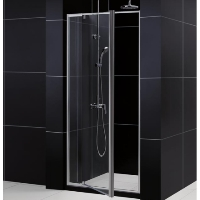 "32"" x 72"" Adjustable Heavy Glass Pivot Shower Door"