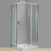 "Dreamline Cornerview 34.5"" x 34.5"" x 72"" Shower Enclosure"