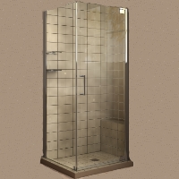 "Dreamline Elegance 34"" x 32"" x 72"" Shower Enclosure With Shelf"