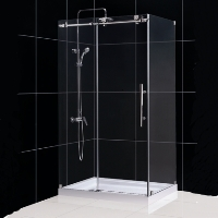 "Dreamline Enigma-X 32.5"" x 48.375"" x 76"" Shower Enclosure"
