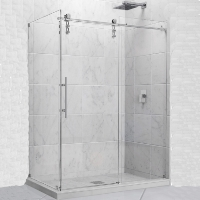 "Dreamline Enigma-Z 34.5"" x 60.375"" x 76"" Shower Enclosure"