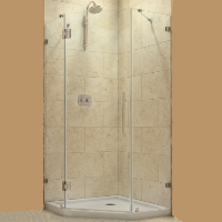 "Dreamline PrismLux 40.375"" x 40.375"" x 72"" Shower Enclosure"