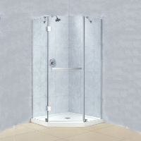 "Dreamline Prism-X 40.375"" x 40.375"" x 72"" Shower Enclosure"