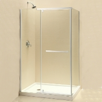 "Dreamline Quatra 32.3125"" x 46.3125"" x 72"" Shower Enclosure"