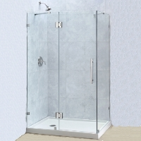 "Dreamline Quatralux 34.3125"" x 46.3125"" x 72"" Shower Enclosure"