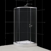 "Brand New Dreamline Sparkle Round Corner Shower Enclosure 30.8"" x 30.8"" x 72.8"""