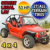 Duruxx 800cc DRX2 Sand Creeper Utility Vehicle 53 HP 4 x 4 LSV UTV - Street Legal