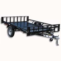 "Heavy Duty 9'5"" x 7'4"" Two Place ATV Trailer"