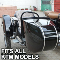 Beemer Side Car Motorcycle Sidecar Kit - Fits All KTM Models
