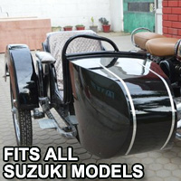 Beemer Side Car Motorcycle Sidecar Kit - Fits All Suzuki Models