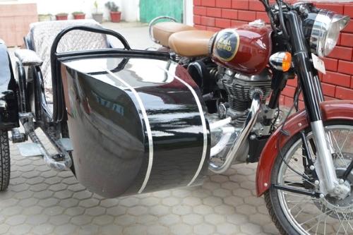 Beemer Side Car Motorcycle Sidecar Kit - Fits All Harley Davidson Models