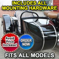 Beemer Side Car Motorcycle Sidecar Kit - Fits All Models