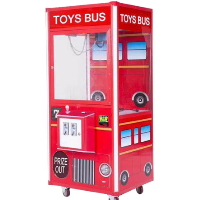 "Toy Bus Plush Crane 33"" Claw Machine - CM-TYB-003"