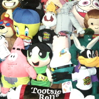 Licensed Mix Jumbo Plush Toys For Crane Machine - 96 Pieces