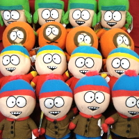 South Park Licensed Plush Toys For Crane Machine - 150 Pieces