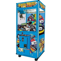 Wheel of Prizes 38 Inch Rotary Crane Machine Game