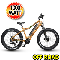 1000 Watt 48v 27 Speed Electric Mountain Bike - Prowler